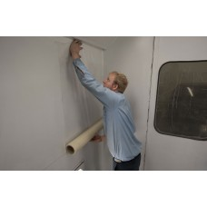"""Spray Booth Wall Protective Film - Clear - 36"""" x 100'"""