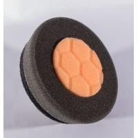 """3.5"""" Orange & Black Buffing Pad"""