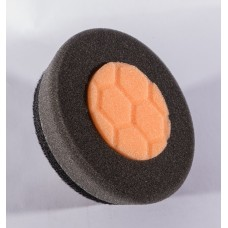 "3.5"" Orange & Black Buffing Pad"