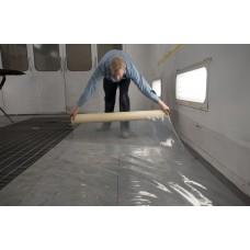 #454 Spray Booth Floor Film - White (1 Roll)
